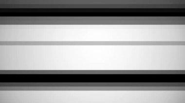 Flashing white horizontal stripes — Stock Video