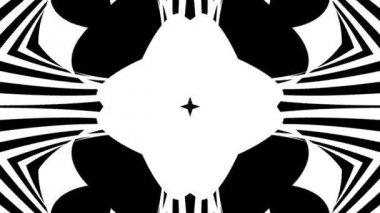 Moving hypnotic patterns — Stok video