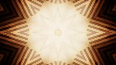 Kaleidoscopic abstract patterns — Stock Video