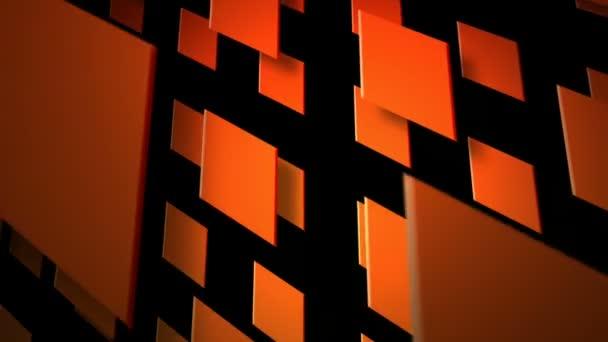 Moving orange squares — Vidéo