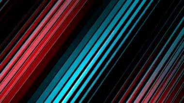 Colored slanted stripes — Stock Video