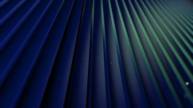 Moving dark blue sticks — Stock Video