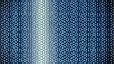 Waving triangle grid — Stock Video