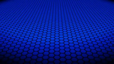 Hexagonal Pattern Background — Stock Video