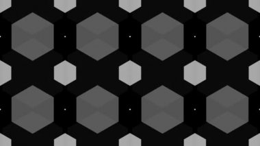 Grey geometrical background — Stock Video