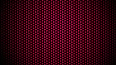 Moving red triangle array — Stock Video