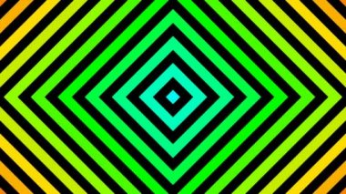Moving rainbow squares — Stock Video