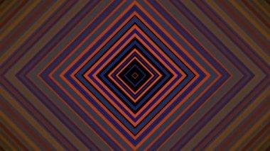 Moving retro squares — Stock Video