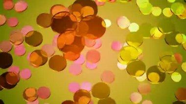 Circles Pattern Background — Stock Video