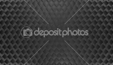 Waving grey tile of squares — Stock Video
