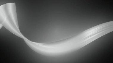 Moving soft ribbon — Stock Video