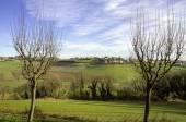 Monferrato panorama wintertime. Color image — Stock Photo