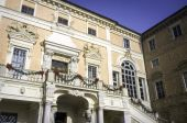 The Govone Castle (Cuneo). Color image — Stock Photo