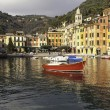 Portofino Bay large view. Color image — Stock Photo #64412561