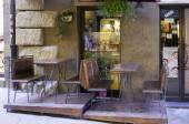 Volterra, Toskana, şaraphane Dükkanı. Renkli görüntü — Stok fotoğraf