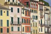 Portofino houses detail. Color image — Stockfoto