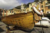 Portofino fishing boat. Color image — Foto de Stock
