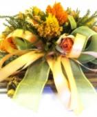 Colorful flowers bouquet. Color image — Stock Photo