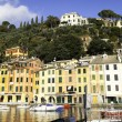 Portofino panorama. Color image — Stock Photo #67907887