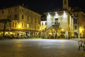 Orta main square, night view. Color image — Stock Photo