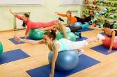 Fitness with Balls — Stock Photo
