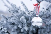 Kerst bal — Stockfoto
