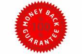 Money back guarantee — 图库照片