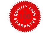 Quality guarantee — Stock Photo