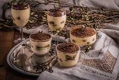 Tiramisu, classical dessert  — Stock Photo