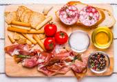 Carne para um lanche rápido — Fotografia Stock