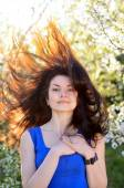 自然の女の子 — ストック写真