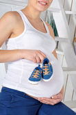 An expectant mother — Stock Photo