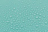 Aqua water drops background or texture. Close-up — 图库照片
