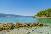 Costa de mar exóticos — Fotografia Stock
