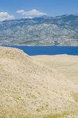 Pag island in Croatia — Stock Photo