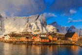 Reine fishing village — Stock Photo