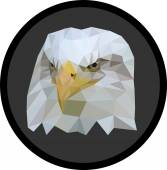 Low-Poly Eagle — Wektor stockowy
