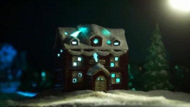 Cristmas Night — ストックビデオ