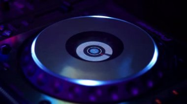 DJ At A Club Set — Vídeo stock