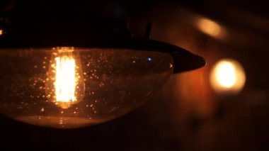 Lámpara — Vídeo de Stock