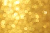 Golden Defocused Lights — Stock Photo