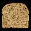 Mold on bread on a black background — Stock Photo #67187695