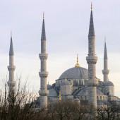 Sultanahmet Camii, istanbul Türkiye — Stok fotoğraf