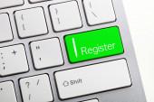 Register key concept — Stock fotografie
