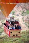 Hot Air Balloon in Cappadocia — Stock Photo