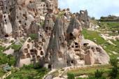 Uchisar village, Cappadocia, Turkey — Stock Photo