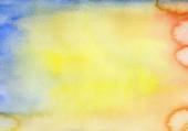 Cor de fundo da água. pintura de mão de arte abstrata — Fotografia Stock