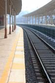Train station, Sirkeci, Istanbul, Turkey — Stock Photo