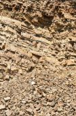 The close-up relief of the rocks — Stock Photo