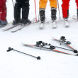 Group of the skiers — Stock Photo #68265119